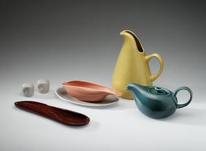 Image 10: American Modern dinnerware, 1937 Russel Wright (American, 1904–1976) Glazed earthenware