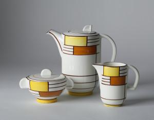 Image 5: Eva Zeisel, Coffee Service (Form 3269, Dekor 3526), 1929 Manufacturer: Schramberger Majolikafabrik, Schramberg, Germany