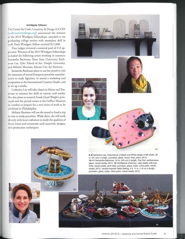 2015 Ceramics Arts Yearbook Windgate Fellows_001